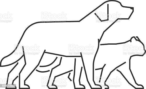 Cool logo for pet shop and veterinary clinic vector id539013906?b=1&k=6&m=539013906&s=612x612&h=dmmva4xtnln5eitmfnvtepeka6qc82gmxjv zevllzw=