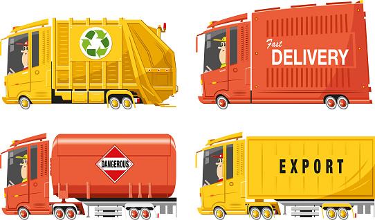 Cool lorry set