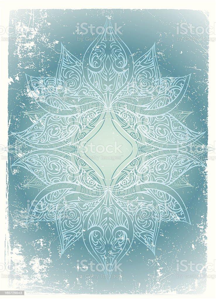 cool lotus radiance royalty-free stock vector art