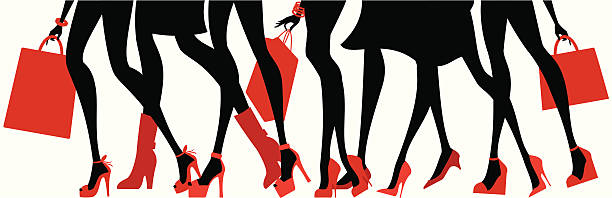 cool shoes - shoes fashion stock illustrations, clip art, cartoons, & icons