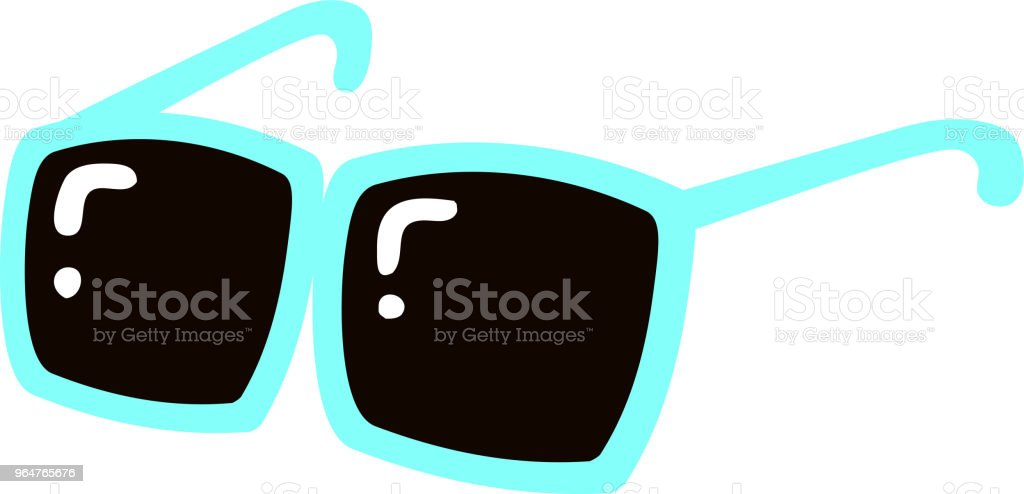Cool sunglasses illustration royalty-free cool sunglasses illustration stock illustration - download image now