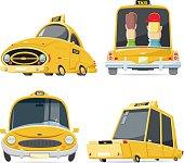 Cool taxi set