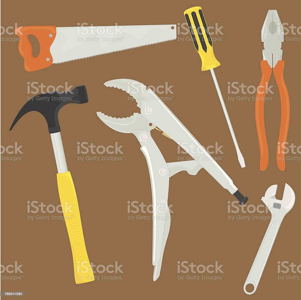 Cool Tools - incl. jpeg royalty-free stock vector art