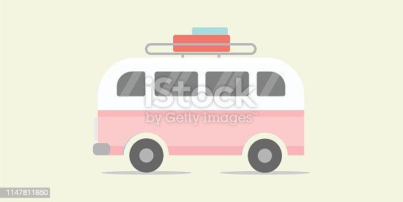Bus, Truck, Van - Vehicle, Delivering, Delivery Van