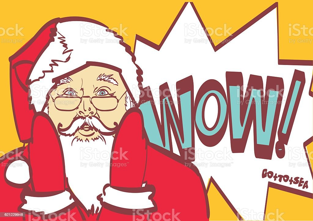 cool vector santa claus in pop art style for any stock vector art rh istockphoto com cool vector art sites cool vector art sites