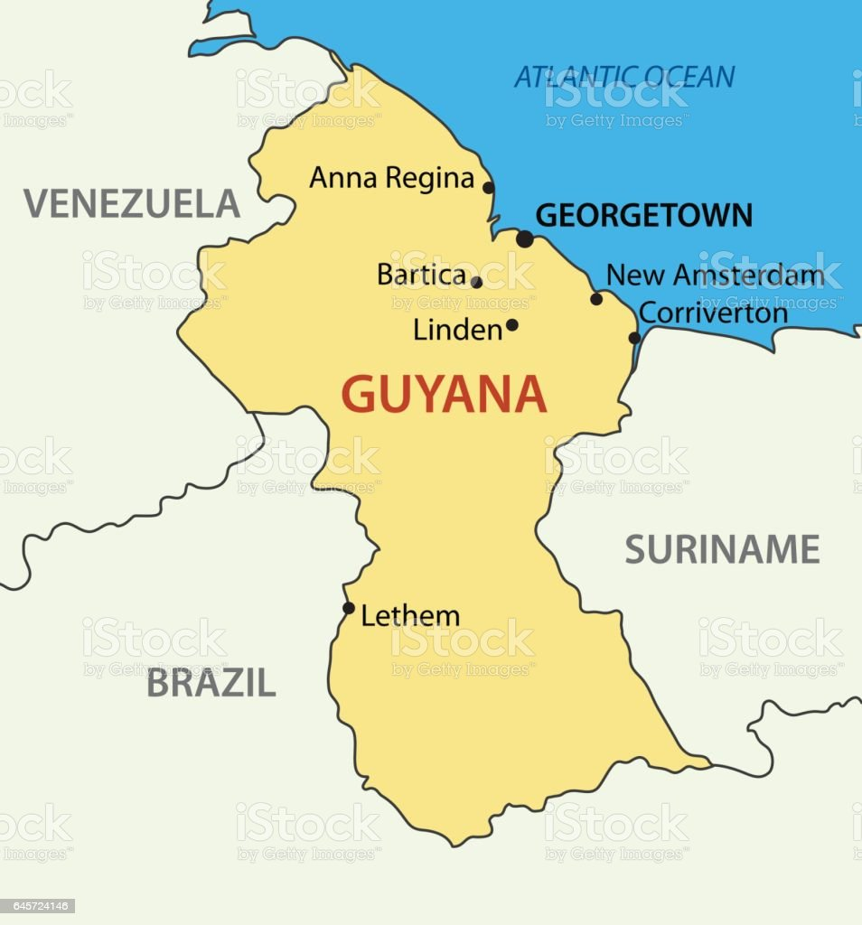Royalty Free Georgetown Guyana Clip Art Vector Images