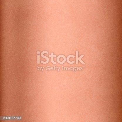 istock Copper background. Textured copper, brass or bronze background 1269167740