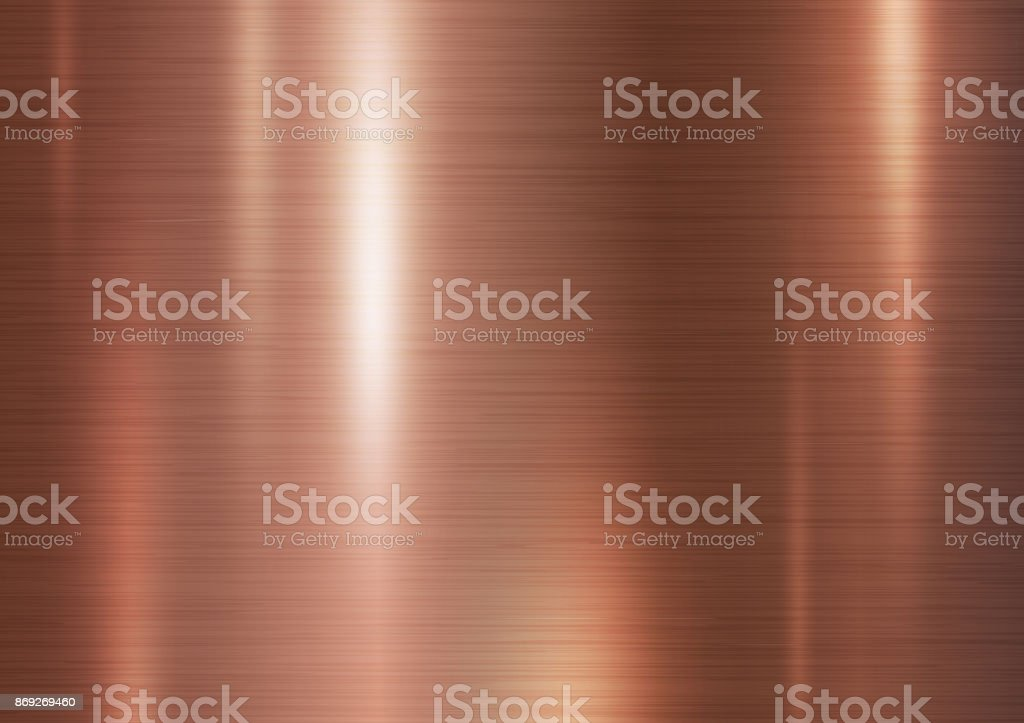 Copper metal texture background vector illustration vector art illustration