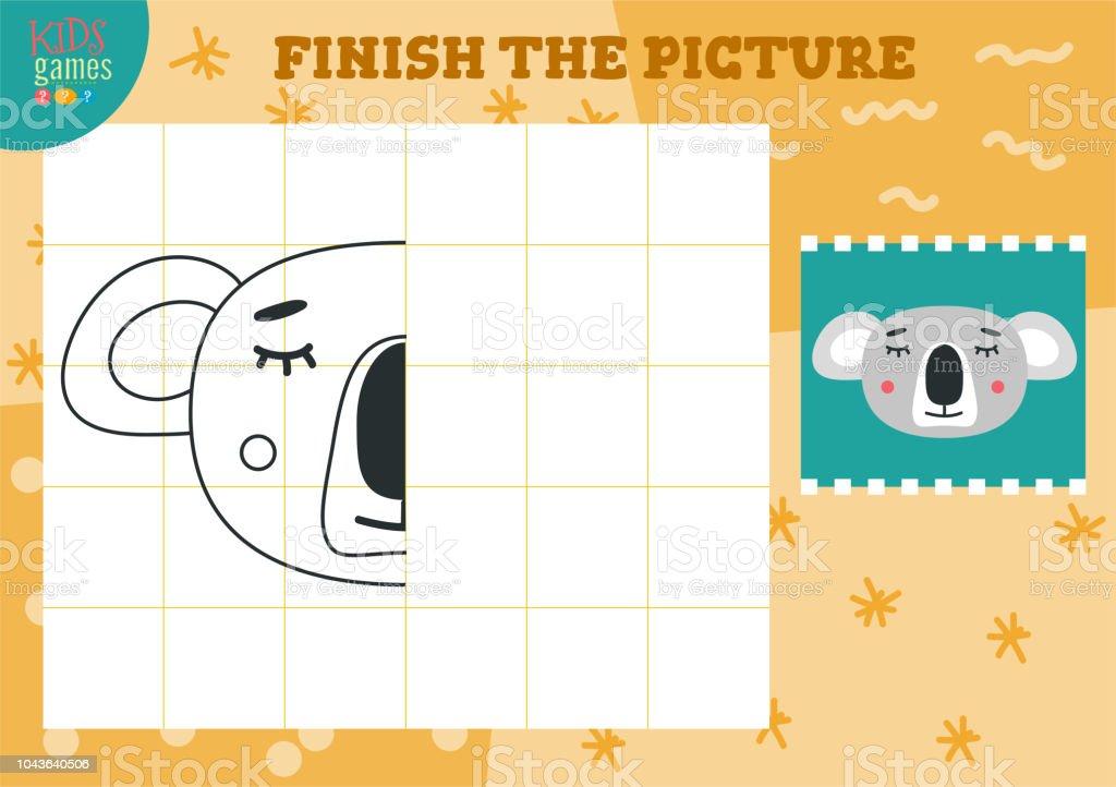 画像のベクトル図をコピーします完全なぬりえゲーム お絵かきの
