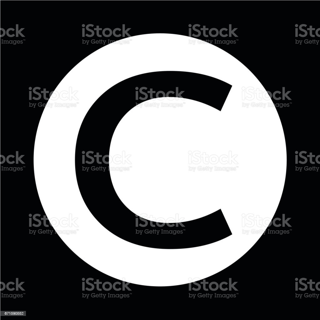 Copyright Symbol Icon Stock Vector Art More Images Of Alphabet