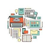 Copywriter work tools