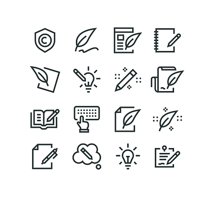 Copywriting Icons