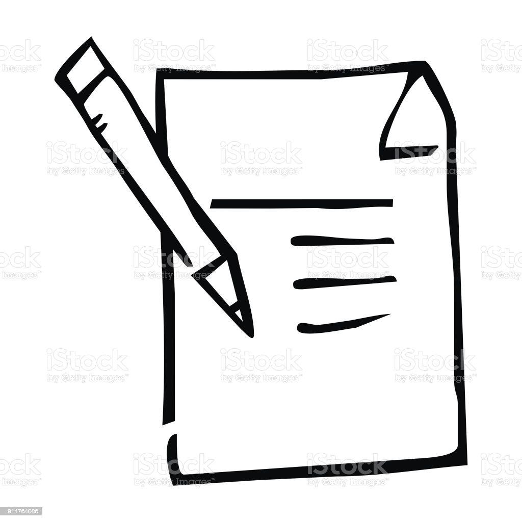 royalty free drawing of the prescription notepad clip art vector rh istockphoto com notepad clip art free notepad clip art free