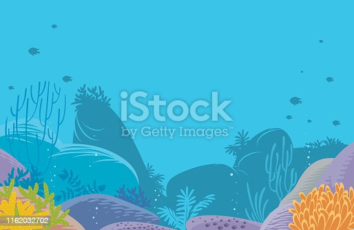 Vector Corals Background