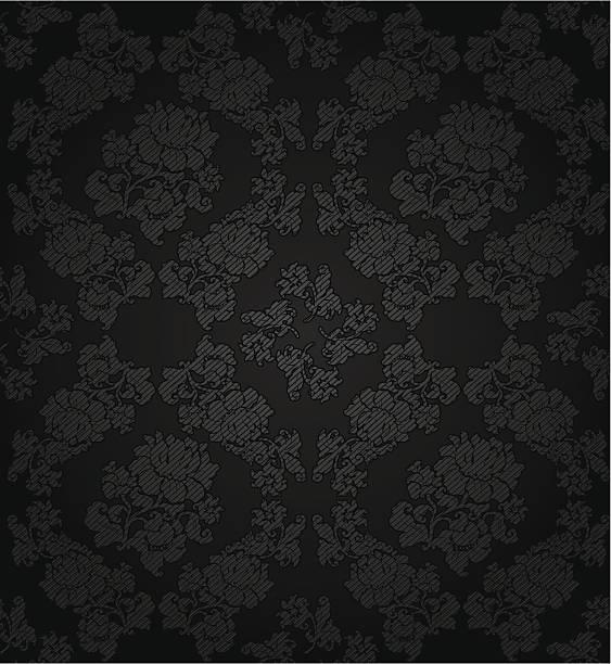 kordsamt dunklem hintergrund, textur-blumen - plüsch stock-grafiken, -clipart, -cartoons und -symbole