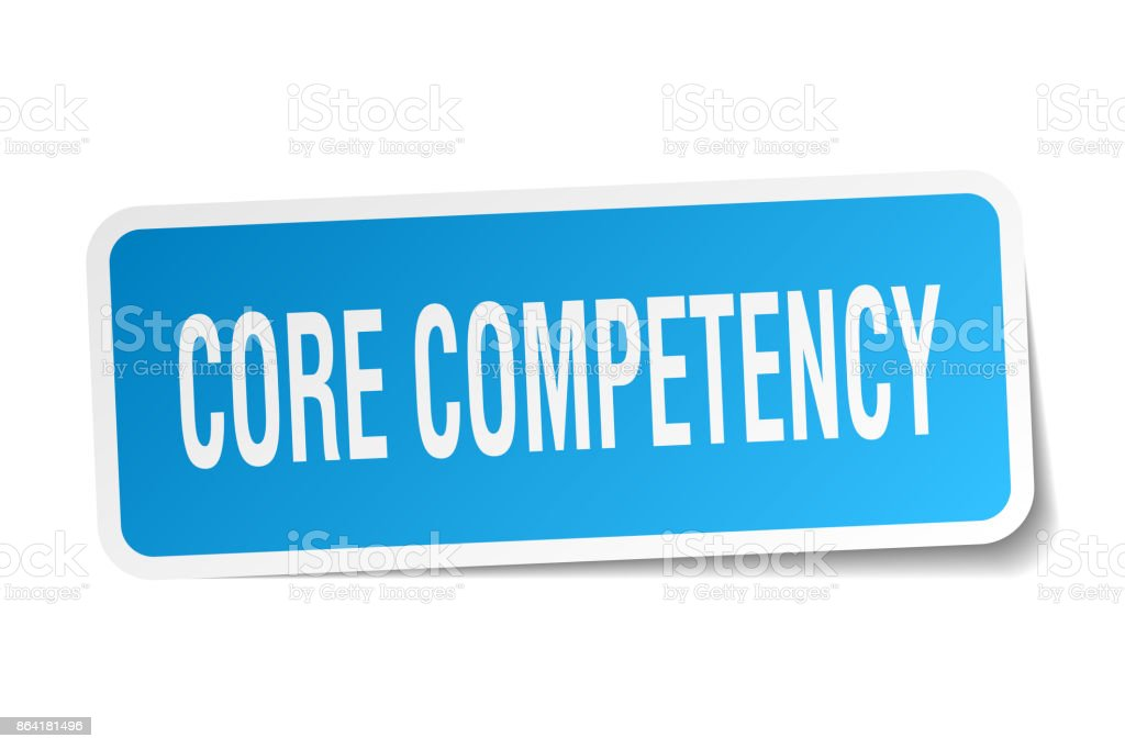 core competency square sticker on white royalty-free core competency square sticker on white stock vector art & more images of badge
