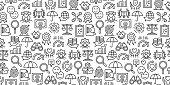Core Values Seamless Pattern