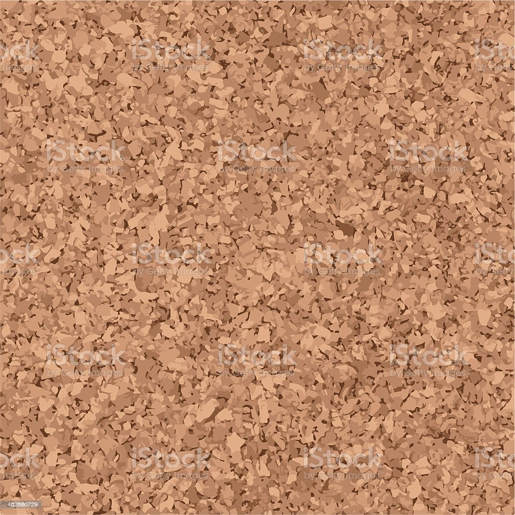 Cork Background vector art illustration