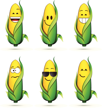 Corn on the cob characters