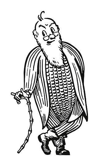 Corn on the Cob Man
