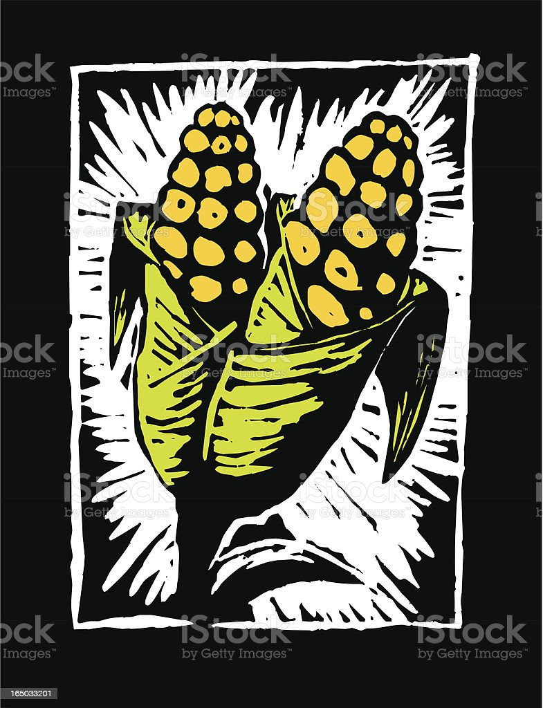 Corn (vector) royalty-free corn stock vector art & more images of agriculture