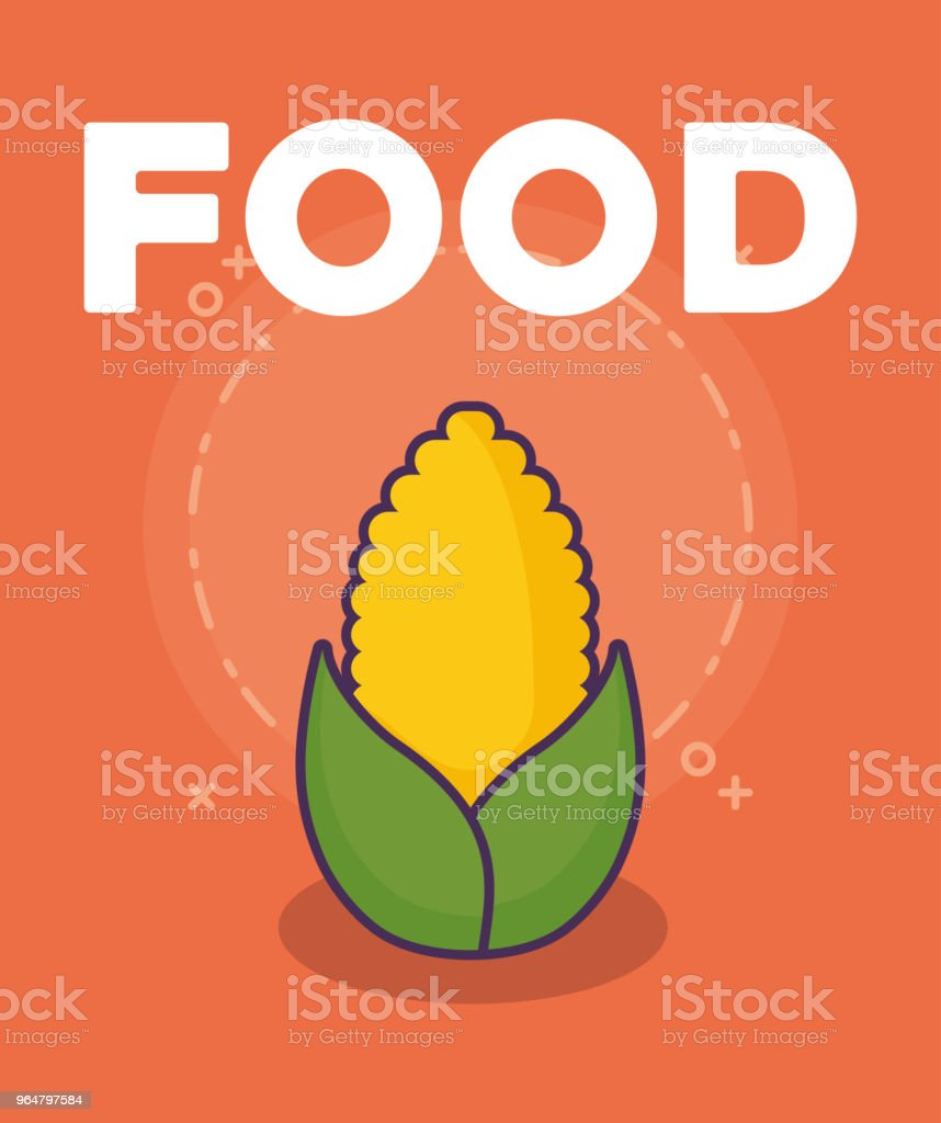 corn vegetable design royalty-free corn vegetable design stock vector art & more images of agriculture