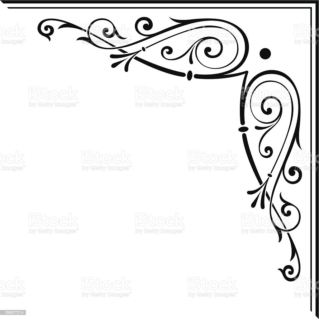 corner art stock vector art amp more images of acute angle