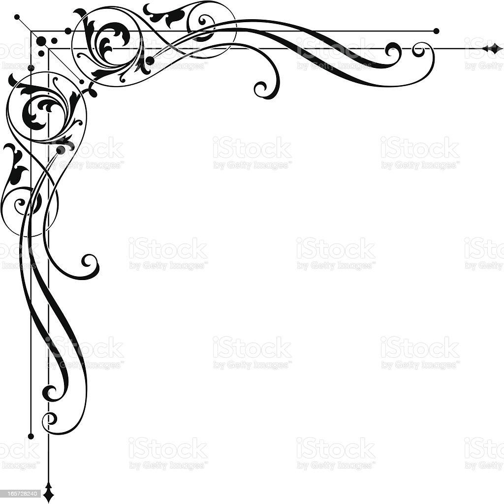 Corner Design Stock Illustration - Download Image Now - iStock