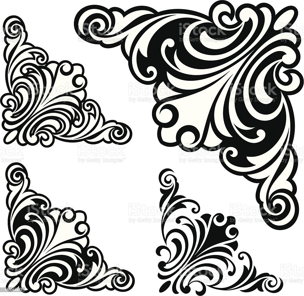 Photo To Line Art Converter Free Download : Corner designs stock vector art more images of angle