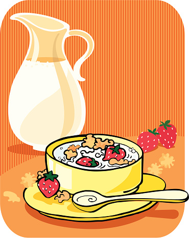 Corn Kernel Für Frühstück Stock Vektor Art und mehr Bilder von Cornflakes