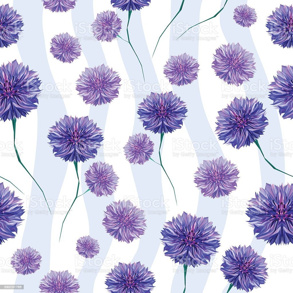 cornflower elements, seamless pattern royaltyfri cornflower elements seamless pattern-vektorgrafik och fler bilder på abstrakt