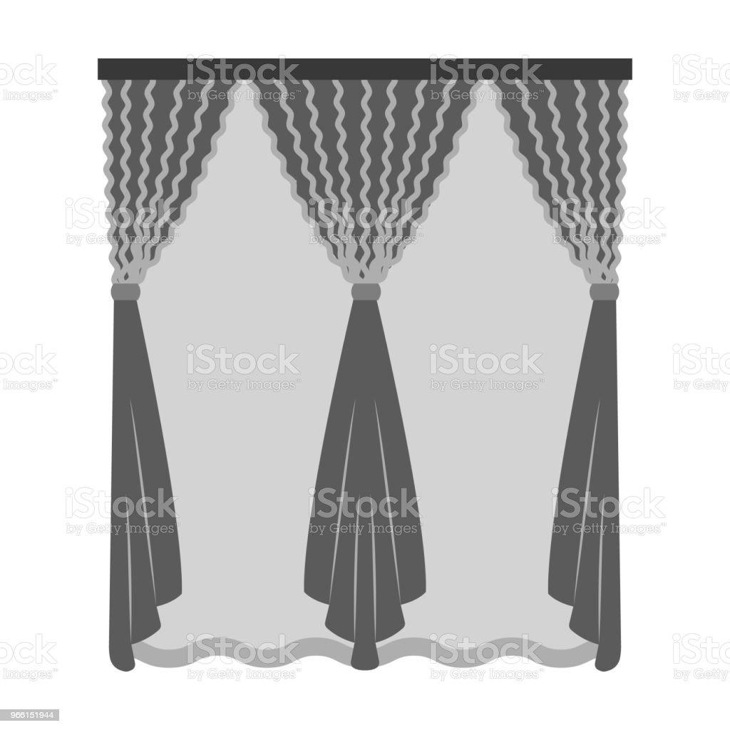 Cornice, single icon in monochrome style.Cornice, vector symbol stock illustration web. - Векторная графика Без людей роялти-фри