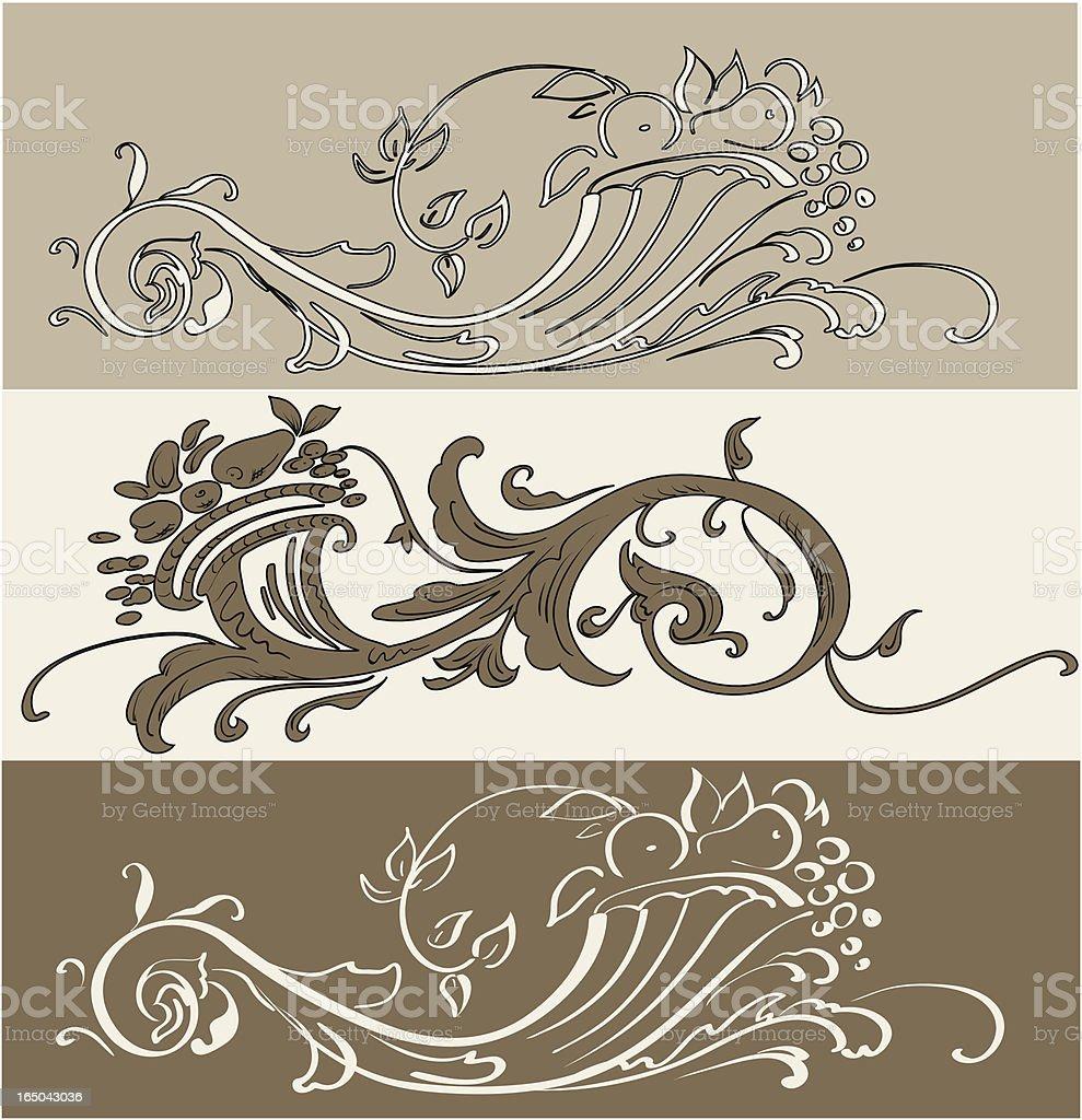 Cornucopia, Vector vector art illustration