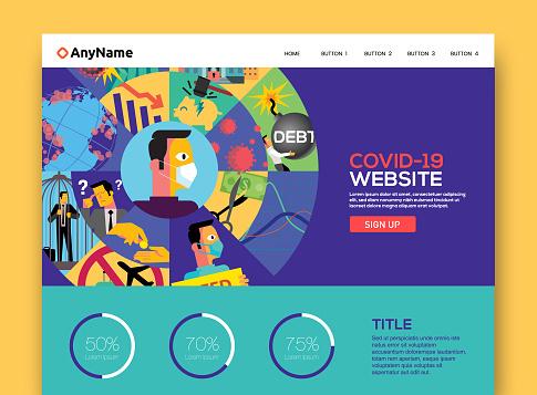 Corona economic disaster website