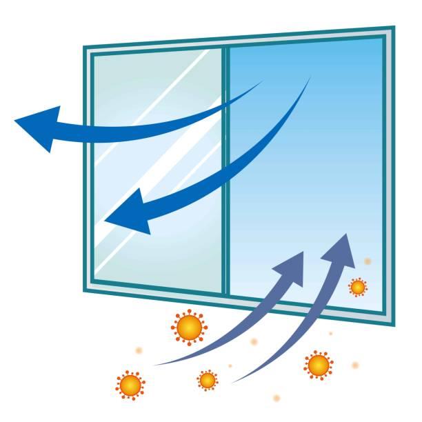 illustrazioni stock, clip art, cartoni animati e icone di tendenza di covid-19 corona virus  infectious disease prevention icon illustration - hand on glass covid