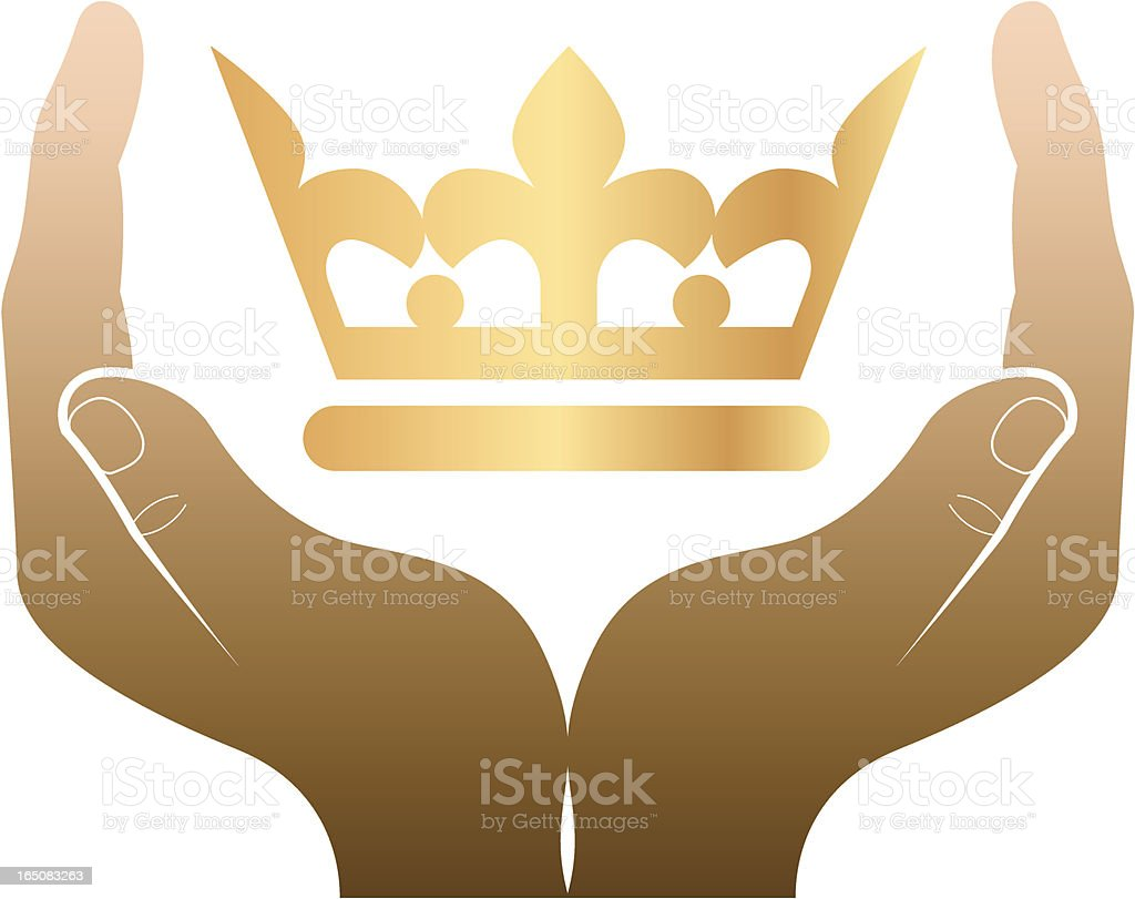 Coronation royalty-free stock vector art