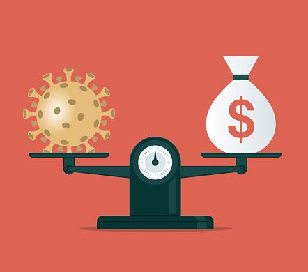 Coronavirus and balance - currency