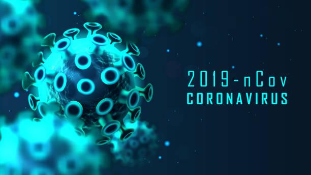 Coronavirus-Zellstruktur – Vektorgrafik