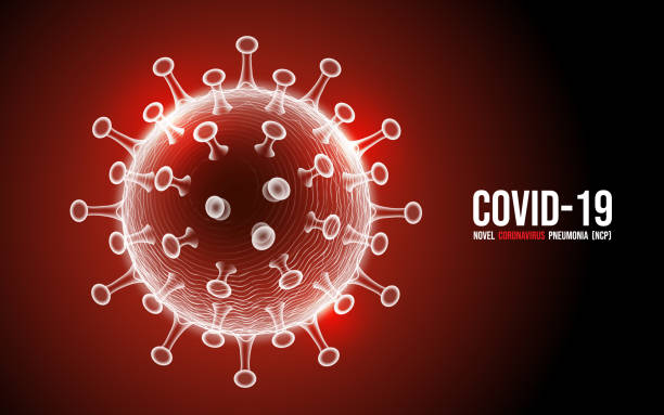 Coronavirus disease COVID-19 infection medical isolated. New official name for Coronavirus disease named COVID-19, vector illustration vector art illustration