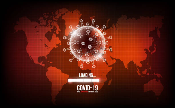 Coronavirus disease COVID-19 infection medical. New official name for Coronavirus disease named COVID-19, Coronavirus epidemic worldwide concept, vector illustration vector art illustration