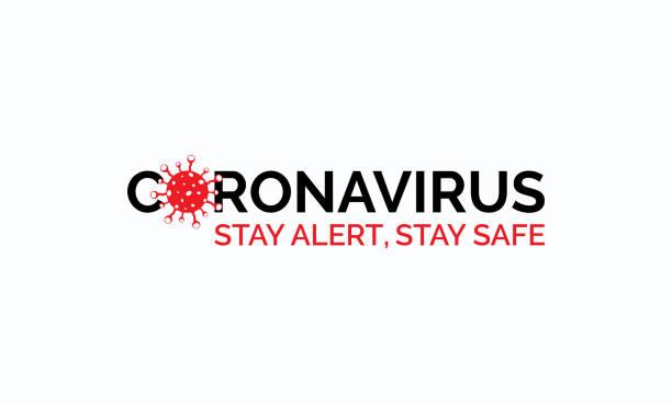 Coronavirus disease (COVID-19) Typography Design. 2019-nCov / Novel Coronavirus Logo Typography Vector Template. Coronavirus disease (COVID-19) Typography Design. 2019-nCov / Novel Coronavirus Logo Typography Vector Template. biohazardous substance stock illustrations