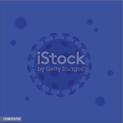 istock Coronavirus (COVID-19) - File vettoriale stock 1208025752
