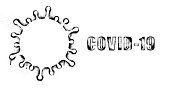 Graffiti Stencil image of Coronavirus. infection, PPE, Covid-19, pandemic, virus,
