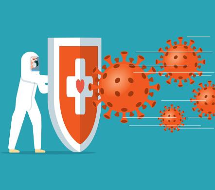 Coronavirus - Hygienic shield