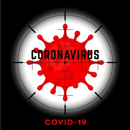 Coronavirus in the crosshairs.