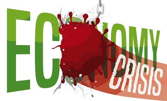 Coronavirus like Wrecking Ball Smashing the Economy with Crisis