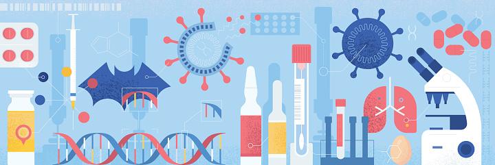 Coronavirus Research Concept