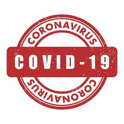 COVID-19, Coronavirus stamp