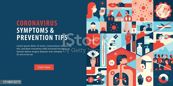 istock Coronavirus Symptoms And Prevention Tips Web Banner 1213012272