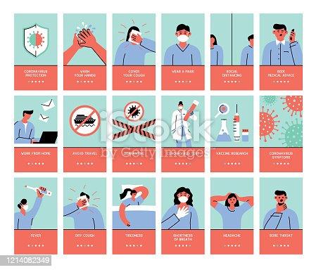 istock Coronavirus symptoms and protection 1214082349